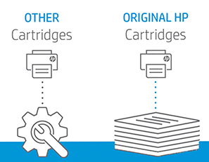 Use genuine HP ink cartridges