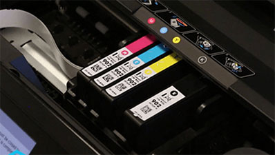 123 HP Deskjet 2622 Ink Cartridge Installation